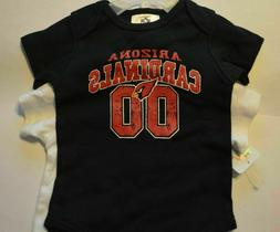arizona cardinals nfl baby s bodysuit footed