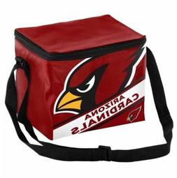 Arizona Cardinals NFL Big Logo Stripe 12 pack Lunch Cooler B