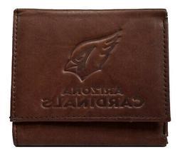 Arizona Cardinals NFL Distressed Look Embossed Logo Dark Bro