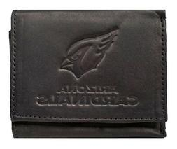 Arizona Cardinals NFL Distressed Look Embossed Logo Black Le
