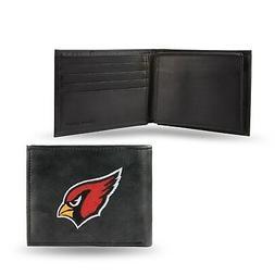 Arizona Cardinals NFL Embroidered Leather Billfold Bi-fold W