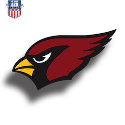 Arizona Cardinals NFL Football Color Logo Sports Decal Stick
