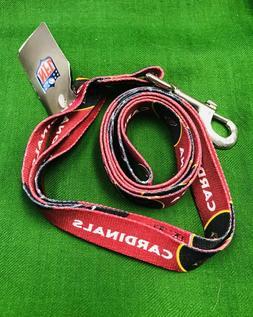 Arizona Cardinals NFL football dog leash lead licensed pet