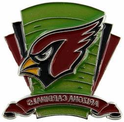 arizona cardinals nfl football field logo collectors