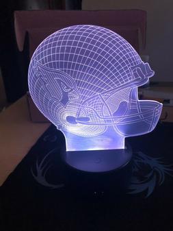 Arizona Cardinals NFL Football Light Up 3D Illusion LED Lamp