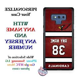 ARIZONA CARDINALS FOOTBALL PHONE CASE COVER FOR iPHONE SAMSU