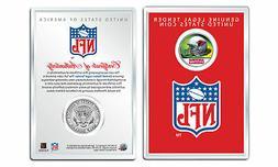 ARIZONA CARDINALS NFL Helmet JFK Half Dollar Coin w/ NFL Dis