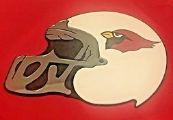 arizona cardinals nfl helmet wall plaque personalized