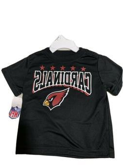 ARIZONA CARDINALS NFL INFANT & TODDLER TEAM APPAREL BLACK T-