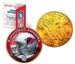 ARIZONA CARDINALS NFL LICENSED 24K Gold Plated IKE Eisenhowe