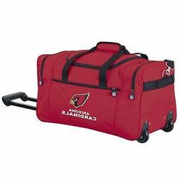 arizona cardinals nfl rugged rolling duffel cooler
