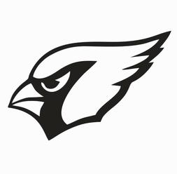 Arizona Cardinals NFL Vinyl Die Cut Car Decal Sticker - FREE