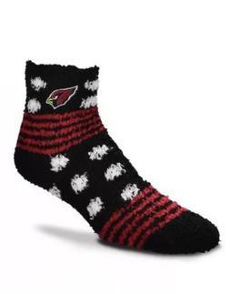 Arizona Cardinals NFL Women's Homegator Soft Sleep Socks