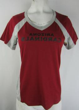 Arizona Cardinals NFL Women's V neck Shirt by Hands High in