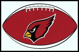 ARIZONA CARDINALS OVAL FOOTBALL NFL DECAL STICKER TEAM LOGO~
