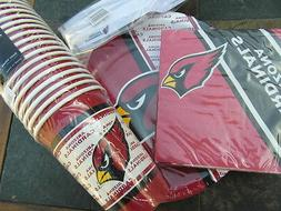 Arizona Cardinals Party Pack 20 Paper Cups Plates, Napkins &