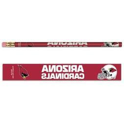 Arizona Cardinals Pencils 6 Pack
