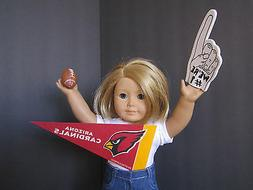ARIZONA CARDINALS Pennant + Foam Finger + Football +Pop Bott