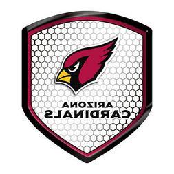 Arizona Cardinals Reflector Auto Decal  NFL Car Emblem Shiel