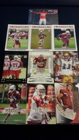 Arizona Cardinals Rookie Card Lot 10 Cards 07-09