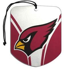 Arizona Cardinals Shield Design Air Freshener 2 Pack  NFL Fr