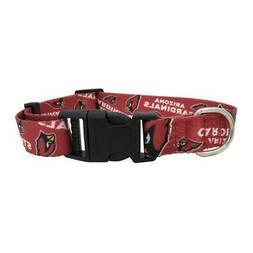 Arizona Cardinals Small Pet Collar  NFL Dog Walk Leash Lead