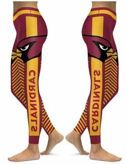Arizona Cardinals Small to 2X-Large Women's Leggings New 202