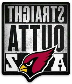 "Arizona Cardinals ""STRAIGHT OUTTA AZ""  w/ cardinal type logo"