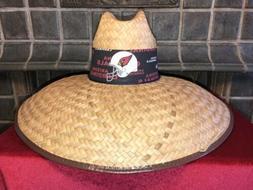 arizona cardinals straw hat