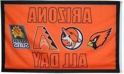 Arizona Cardinals Suns Diamondbacks Coyotes Flag All Day Spo