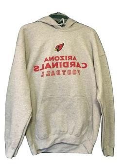 arizona cardinals sweatshirt gray hoodie sweatshirt adult