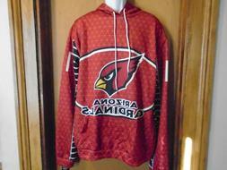 Arizona Cardinals Team Apparel Men's Hooded Hoodie Pullover