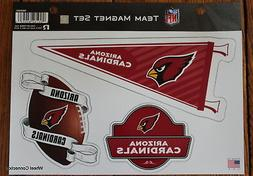 Arizona Cardinals Team Magnet Set 3 Piece NFL Football 11x8