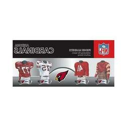 Arizona Cardinals Uniform Magnet Set 4 Pack  NFL Jersey Shir