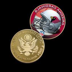 ARIZONA CARDINALS Us NFL Metal Coin Sport Team Challenge Coi