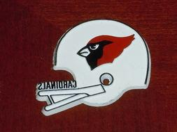 ARIZONA CARDINALS Vintage Old NFL RUBBER Football FRIDGE MAG