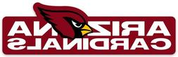 Arizona Cardinals w/ cardinal and NAME type logo Die-Cut MAG