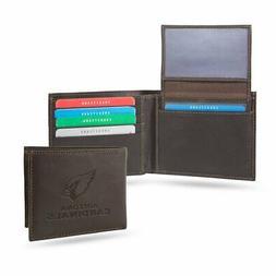 Arizona Cardinals Wallet NFL Lic. BI-Fold Leather Football B