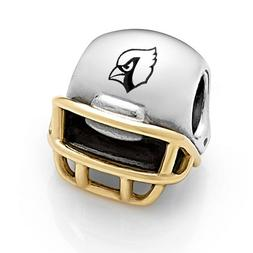 Authentic Pandora NFL Arizona Cardinals Silver/14kt Gold Hel