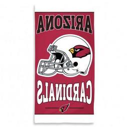 """Beach Towels 30"""" x 60"""" Fiber Reactive - NFL Arizona Cardinal"""