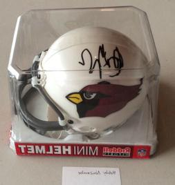 Bobby Newcombe Autographed Arizona Cardinals Riddell NFL Off
