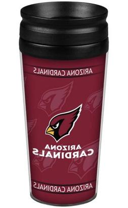 Brand New Arizona Cardinals Travel Mug Coffee Cup Tumbler 14