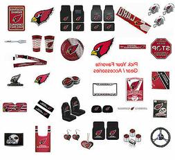 Brand New NFL Arizona Cardinals Pick Your Gear / Accessories