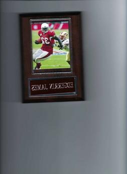 EDGERRIN JAMES PLAQUE ARIZONA CARDINALS FOOTBALL NFL