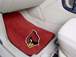"""Fan Mats 5663 NFL - Arizona Cardinals 18"""" x 27"""" Carpeted Car"""