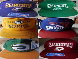 Giants Packers Cardinals Vkings NFL Hats Caps snapback VTG &