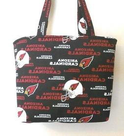 Handmade NFL Arizona Cardinals Tote Purse Bag