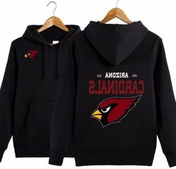 Hot NFL Men's Arizona Cardinals Hoody Sweatshirt Football Ap