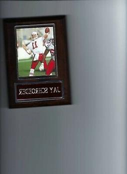 JAY SCHROEDER PLAQUE ARIZONA CARDINALS FOOTBALL NFL