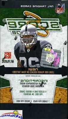 2008 Score Football Factory Sealed Blaster Box-1 RC+Glossy P